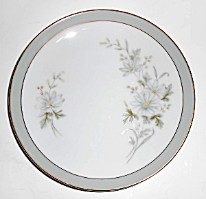 Noritake Porcelain China Michelle 6021 W/gold Bread Pl