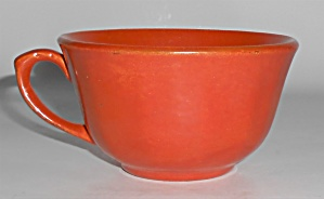Catalina Island Pottery Toyon Red 17-sided Coffee Cup