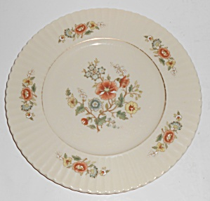 Lenox China Temple Blossom Gold Band Salad Plate (Image1)