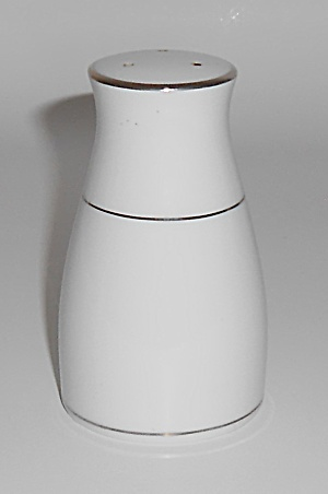 Noritake China Porcelain Platinum Salt & Pepper Shaker