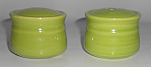 Metlox Pottery Poppy Trail Colorstax Fern Green Salt &