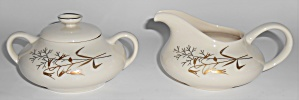 Franciscan Pottery Fine China Winter Bouquet Creamer &