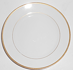 Noritake Porcelain China The Mikado W/gold Bread Plate