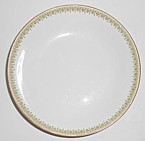 Ahrenfeldt China Porcelain Green w/Gold Soup Bowl (Image1)