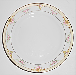 Noritake Nippon Porcelain China Floral/Gold Salad Plate (Image1)