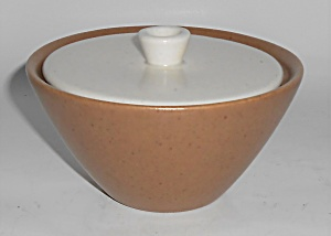 Metlox Pottery Poppy Trail California Tempo Sugar Bowl