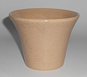 Bauer Pottery Tan Speckle 4in Spanish Flower Pot