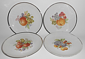 Tirschenreuth Porcelain China #2531 Fruit Pattern Salad