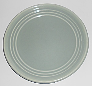 Bauer Pottery Ring Ware Grey Salad Plate  (Image1)