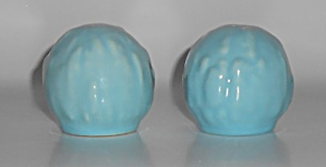 Franciscan Pottery Catalina Rancho Turquoise Gourd Sha