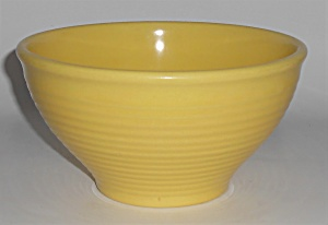 Franciscan Pottery Kitchen Ware Yellow Mixing Bowl