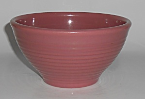 Franciscan Pottery Kitchen Ware Dusty Rose Mixing Bowl