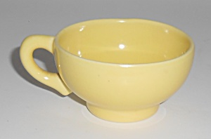 Franciscan Pottery El Patio Gloss Yellow Demitasse Cup (Image1)