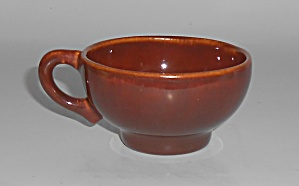 Franciscan Pottery El Patio Redwood Gloss Demitasse Cup