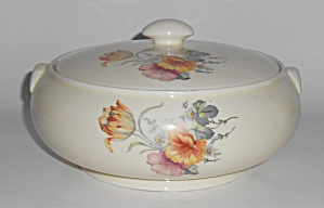 Coors Pottery Thermo Porcelain Tulip French Casserole