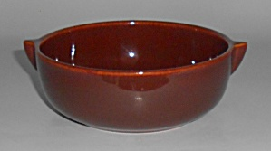 Franciscan Pottery El Patio Early Redwood Gloss Soup (Image1)
