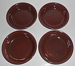 Franciscan Pottery El Patio Redwood Gloss Fruit Bowl (Image1)