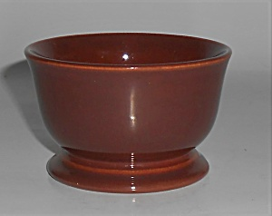 Franciscan Pottery El Patio Redwood Gloss Sherbet Bowl (Image1)