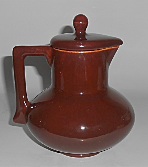 Franciscan Pottery El Patio Redwood Gloss Hot Water Pot (Image1)