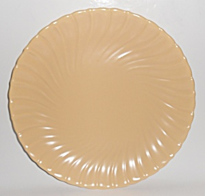 Franciscan Pottery Coronado Satin Almond 14in Chop Pl (Image1)
