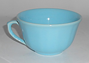 Catalina Island Pottery Turquoise 8-Sided Cup (Image1)