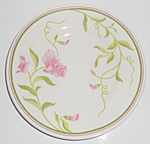 Franciscan Pottery Greenhouse Sweet Pea Salad Plate (Image1)