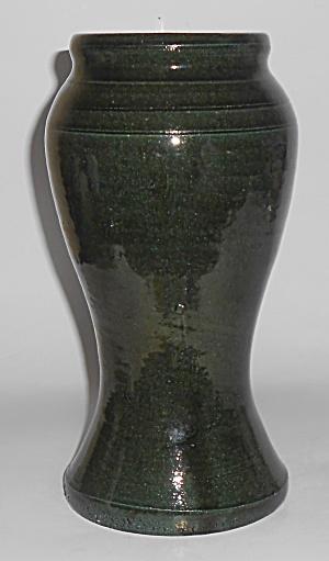Bauer Pottery Early Matt Carlton Green California Vase (Image1)
