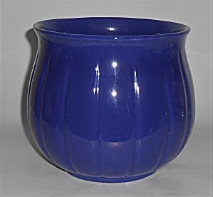 Franciscan Pottery Tropico Ware Cobalt #92 Jardiniere (Image1)