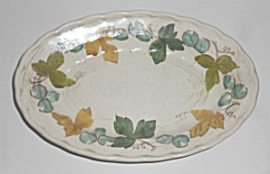 Metlox Pottery Poppy Trail Vineyard Small #240 Platter