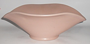 Early Camark Pottery Matte Pink #878 Art Bowl