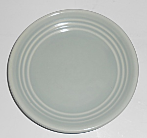 Bauer Pottery Ring Ware Grey Bread Plate (Image1)