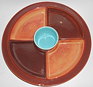 Franciscan Pottery El Patio #265 6-Piece Buffet Supper  (Image1)