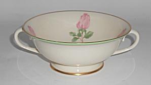 Franciscan Pottery China Cherokee Rose Cream Soup Bowl (Image1)