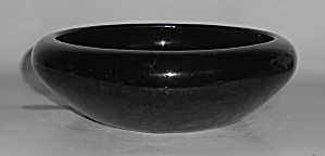 Bauer Pottery Early Black Low Art Bowl