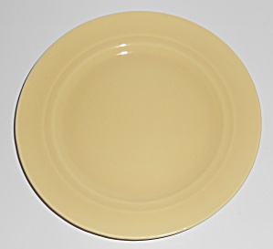 Franciscan Pottery Montecito Gloss Yellow Dessert Plate (Image1)
