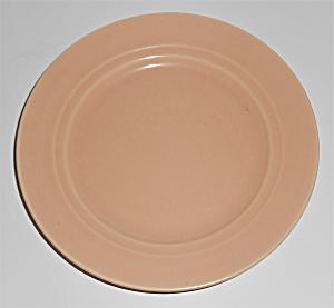 Franciscan Pottery Montecito Satin Coral Bread Plate (Image1)