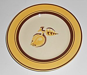 Franciscan Pottery Early Mango Bread Plate (Image1)