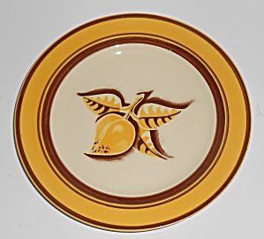 Franciscan Pottery Early Mango Dessert Plate (Image1)
