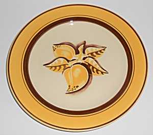 Franciscan Pottery Early Mango Luncheon Plate (Image1)