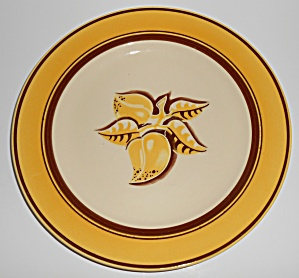 Franciscan Pottery Early Mango Dinner Plate (Image1)