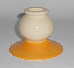 Franciscan Pottery Early Del Oro Demitasse Candlestick  (Image1)