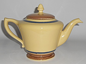 Franciscan Pottery Very Rare Willow Teapot