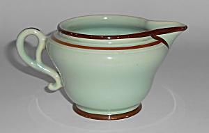 Franciscan Pottery Tiger Flower Celadon Creamer (Image1)