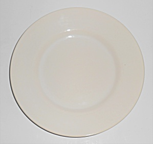 Franciscan Pottery El Patio Gloss White Salad Plate (Image1)