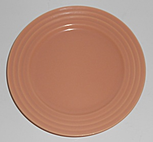 Franciscan Pottery Pueblo Gloss Coral Dessert Plate (Image1)