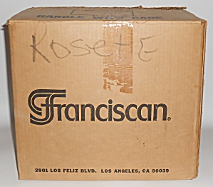 Franciscan Pottery Rosette 20 Piece Starter Box Set (Image1)