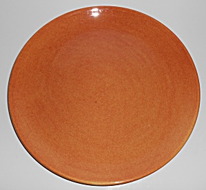 Franciscan Pottery El Patio Golden Glow Chop Plate