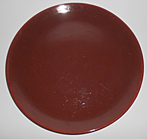 Franciscan Pottery El Patio Redwood Gloss Chop Plate (Image1)