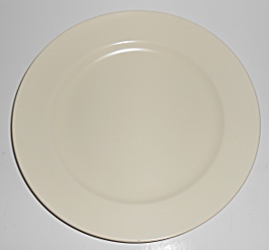 Franciscan Pottery El Patio Satin Ivory Dinner Plate (Image1)