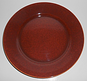Franciscan Pottery El Patio Redwood Gloss Dinner Plate (Image1)